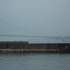 明石海峡大橋・大鳴門橋と渦潮 2013.8