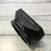 Flektogon 35mm(フレクトゴン)に、タクマー28mm用の角形フードを装着するとカッコいいからオススメ!