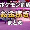 【ポケモン剣盾】お金稼ぎ(金策)の効率的な方法