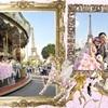 パリ フォトウェディング♪  パリのメリーゴーランド♪ハネムーン旅行記2014♪フランス&イタリア♪