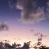 むらさき色の空