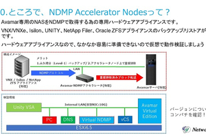 Avamar Virtual NDMP Accelerator のレシピ
