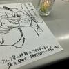 キャンドルデコペンシルというものがあるので亀仙人キャンドルを作ってみました。