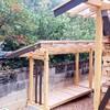 小割薪小屋の建築②