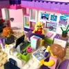 レゴフレンズ  アートカフェを『女子』なオフィスに作り変え♪