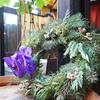 FLORETTAのクリスマスリースのレッスン♪