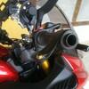 GSX-S1000F 防風 ハンドガード取付