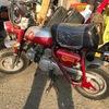 【バイク】倉庫でかわいいお猿さんを発見!