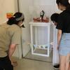 浜田氏世界こども美術館の今年の夏の私の展示の様子です