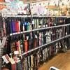 三浦半島随一の品揃え!!ギターストラップたくさんあります。