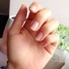 綺麗な爪でいて欲しい