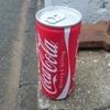 缶コーラ飲んで張り込み