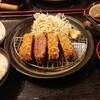 神戸市西区にある  とんかつ  華 でお腹いっぱい。