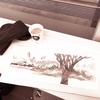 冬の大池 鶴見緑地を描く 1話 水彩de風景スケッチ 2019