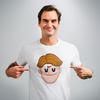 Emojierer, Federer、からの、関西弁ロジャー