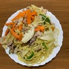 太麺塩やきそば(自宅で料理シリーズ)