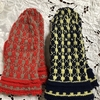 ミトン手袋を編みました