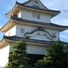 丸亀城にランで登ってきました
