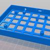 自作キーボードを作ります③ 筐体のモデリングと印刷