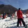 5歳、初めての春スキーデビュー!