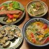 夏野菜とシラスの雑炊