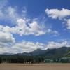 夏休みの課題 雲と月