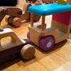 『木育』木のおもちゃで遊ぶ!牛久自然観察の森の木育広場