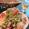 ランチ日記 #81 たっぷりお野菜のランチとビール(東京スクエアガーデン)