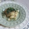 ❥鱈と菜の花、ユリ根のアンチョビソース~菜の花~