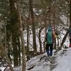 大寒の奥物部の森遊山 承