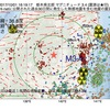 2017年10月01日 16時19分 栃木県北部でM3.4の地震