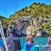 【タウポ観光】1日目~NZ最大の湖の中に浮かぶマオリ伝説の彫刻をみにいってきた~