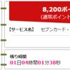 【ちょびリッチ】セブンカード・プラスが届きました!!ハピタスのみんなdeポイントに、8200円相当で掲載中です!