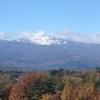冬の空と山に思いを馳せ感じるセダムの成長