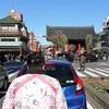 人力車に乗って正月の浅草巡り(前編)、車夫は瞬間メタル・タケタリーノ山口さん