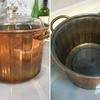 そうだ銅鍋を使ってみよう~薪ストーブ天板を有効活用(後編)