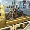#バイク屋の日常 #ヤマハ #ドラッグスター250 #レッカー #ボバー