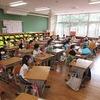 地震避難訓練① 1年生:事前指導&一次避難