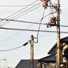 【画像】 電柱を登り、電線を移動する女性が目撃される 徳島