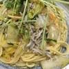 しらすと豆苗の和風オイルパスタ【レシピ】