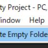 【Unity】空のフォルダ(ディレクトリ)を一括で削除するエディタ拡張