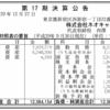 株式会社ネオキャリア 第17期決算公告