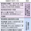 (いま読む日本国憲法)(特別編)憲法審査会 議論の行方は 自民、来年にも「改憲原案」 - 東京新聞(2017年5月3日)