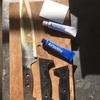 包丁の柄修理