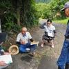 小舟下睦美会を取材しました。(平成26年8月8日)