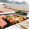 海の京都で海水浴&キャンプを満喫!高嶋海水浴場 砂浜フリーキャンプ場のレポ