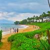 【マウイ島リゾートエリア2】ビーチパーク設備が群を抜いているマウイ島キヘイ、ワイレア地区、ウミガメ☆