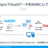 Create!FormからSQLServerへの接続だけでSaaSデータを出力する方法:CData Sync