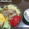 【自分を大事にする食事】冷やし中華の豚肉のせ