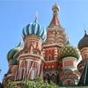【ロシア旅行】モスクワ:街の中心クレムリンン。隣には赤の広場と聖ワシリイ大聖堂。